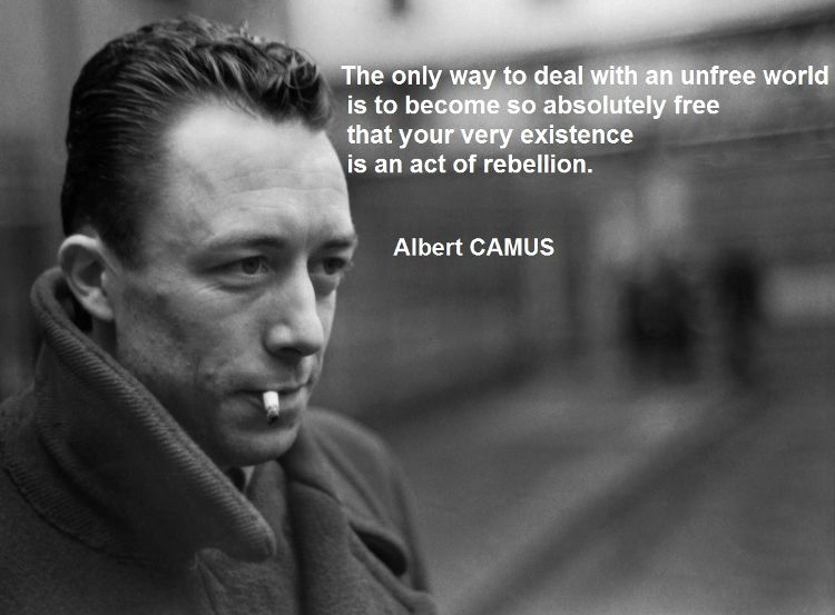 I Know This Was Camus, But It Sounds Likes Jesus To Me