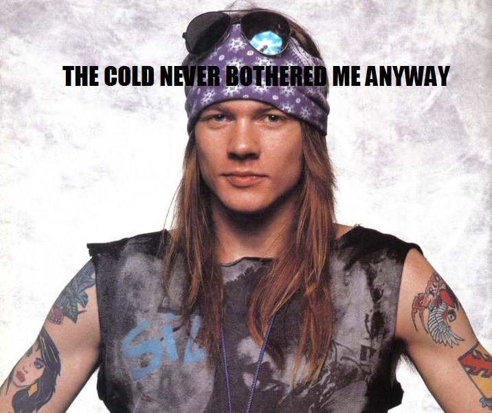 Frozen Memes With Noel and Liam Gallagher, AxlRose