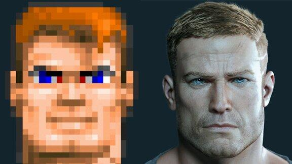 Physical (Virtual) Proof of Moore's Law At Work: Wolfenstein Graphics in 1992 and 2014