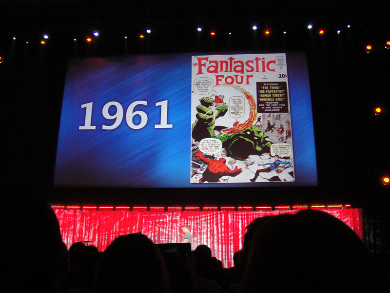 D23_Expo_2011_-_Marvel_panel_-_1961_-_Fantastic_Four!_(6080860699)