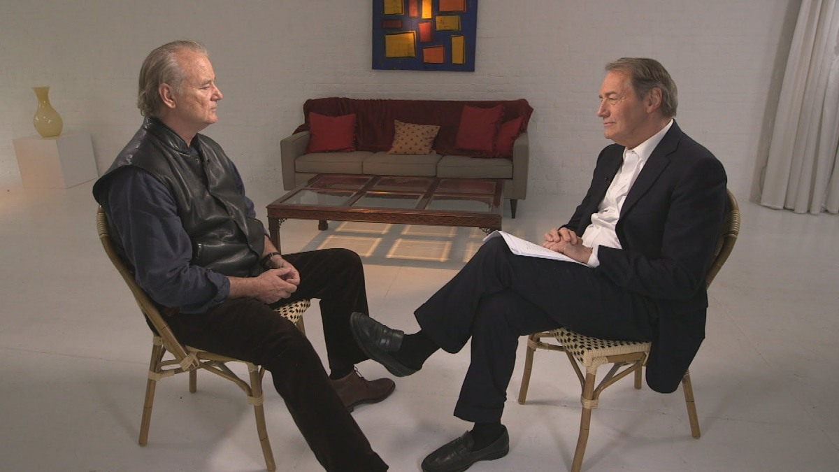 Bill Murray on Charlie Rose