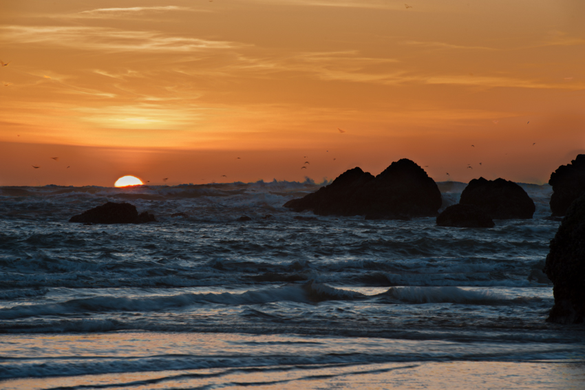 [B]rad Infinitum: Cannon Beach, Oregon, atSunset