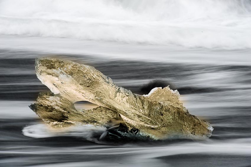 04.1 - ice on beach yellow