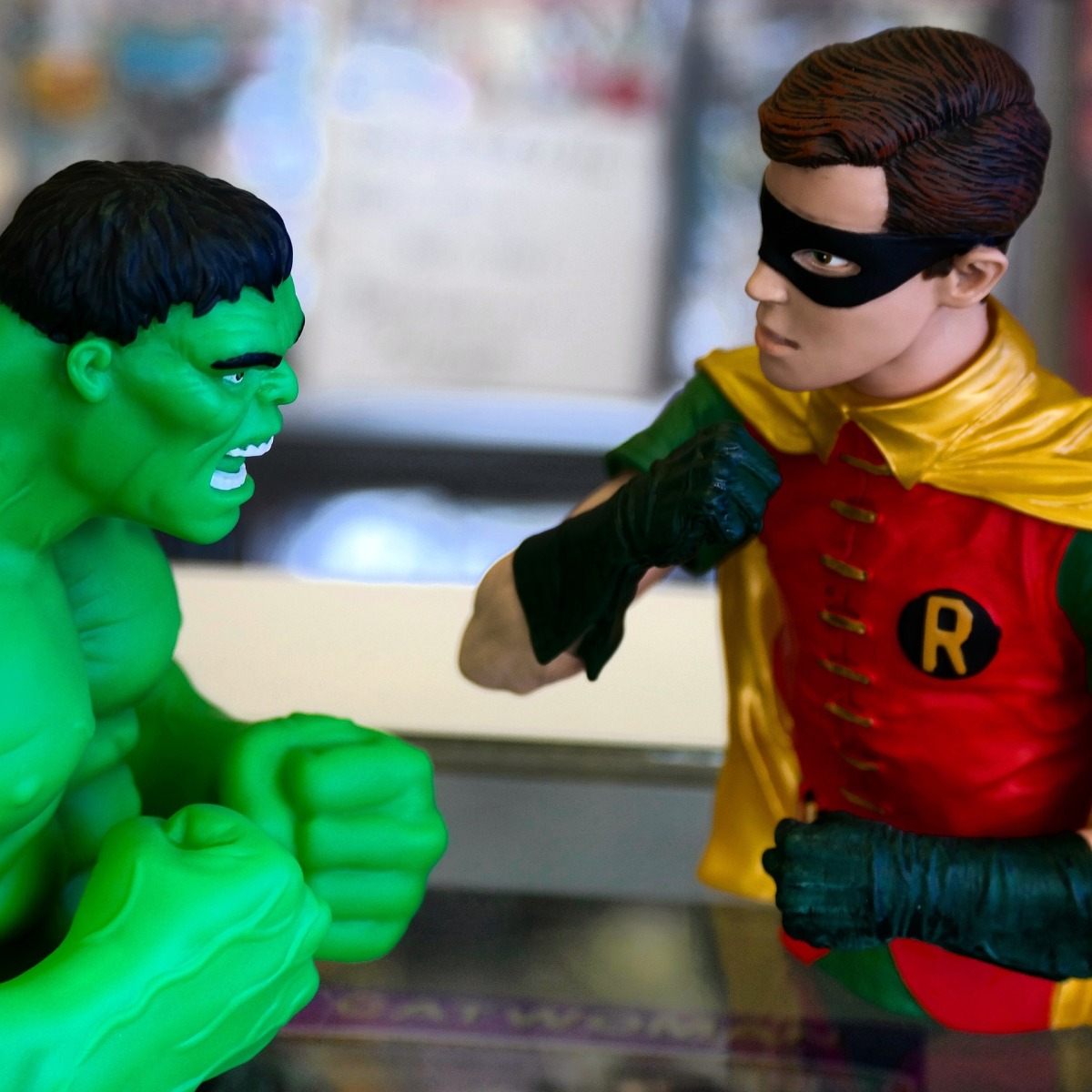 That Time Robin Fought the Hulk