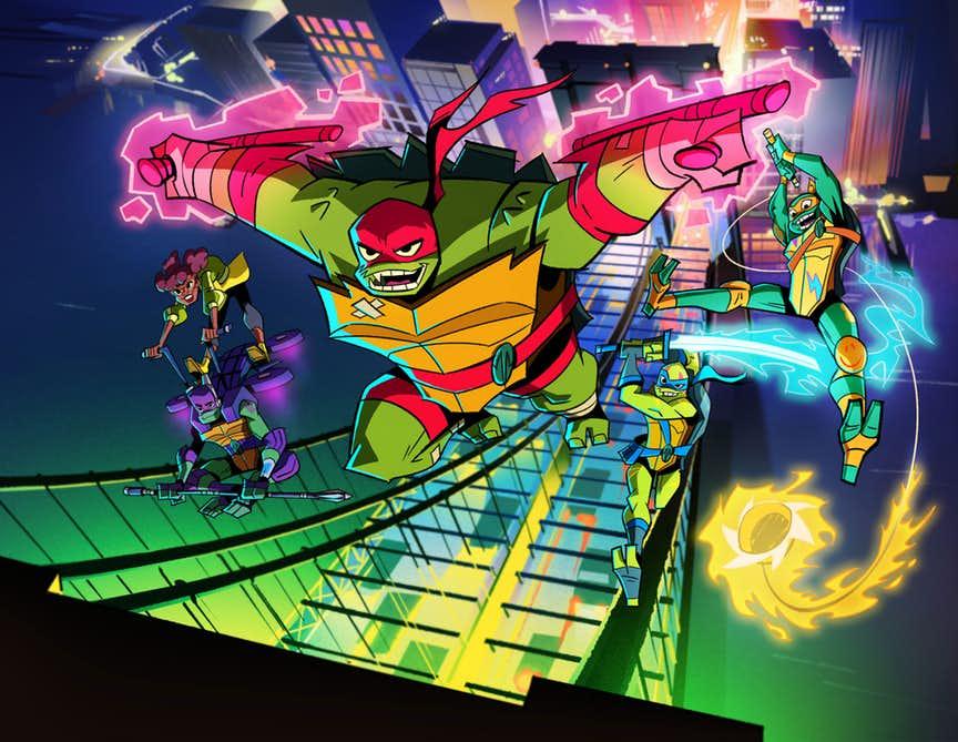 Rise of the Teenage Mutant Ninja Turtles Promo ImageSurfaces